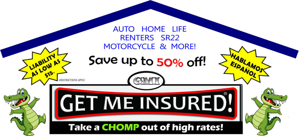 Get Me Insured - Auto, Home, Life, Renters, SR22, and Motorcycle Insurance